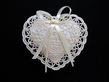 подушка шнурка сердца Стоковая Фотография RF