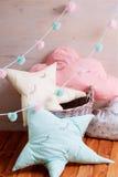Подушки дизайна концепции Стоковая Фотография RF