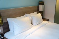 Подушки кровати Стоковое фото RF