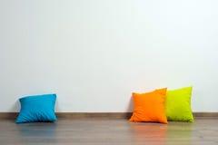 Подушки на поле Стоковое Фото