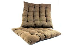 2 подушки для релаксации Стоковая Фотография