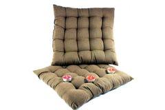 2 подушки для релаксации Стоковое Изображение