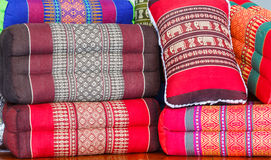 Подушки, handmade в Таиланде Стоковые Изображения
