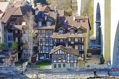 Полу-timbered дома в Bern Стоковые Фотографии RF