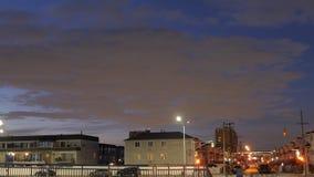Подход к ночи Стоковая Фотография
