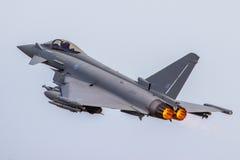 Подход к тайфуна RAF низкий Стоковая Фотография RF