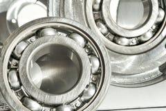 Подшипники металла Технология CNC, машиностроение Стоковые Изображения RF