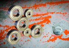 Подшипник металла Запасные части для машинного оборудования стоковые изображения