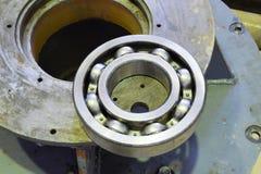 Подшипник трением Деталь асинхронного электрического двигателя Стоковое Изображение RF