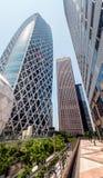 подъема японии зданий здания зодчества квартиры башня токио конкретного стеклянного высокого самомоднейшего селитебного стальная  Стоковые Фото