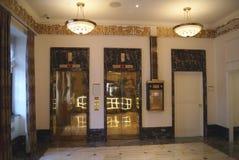 подъемы лифты стоковая фотография