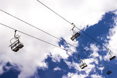 Подъемы лыжи Стоковые Фото