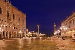 Подъем ламп дворца Венеции Marco Стоковое Изображение
