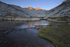 Подъем восхода солнца на держатель Conness Стоковые Изображения