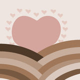 Подъем влюбленности Стоковые Изображения RF