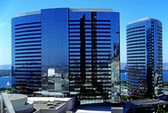 подъем зданий высокий Стоковые Изображения RF