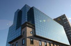 подъем конструкции здания высокий вниз Стоковые Фото