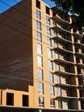 подъем конструкции здания высокий вниз Стоковые Фотографии RF