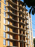 подъем конструкции здания высокий вниз Стоковое Изображение