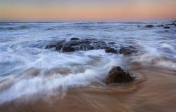 Подъем Платона камня Garie океана Стоковая Фотография RF