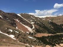 Подъем скалистой горы Стоковое фото RF