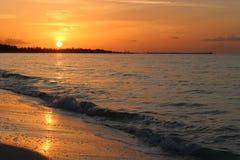 Подъем Солнця над океаном #1 Стоковая Фотография