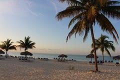 Подъем Солнця на пляж #4 Стоковое Изображение