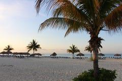 Подъем Солнця на пляж #5 Стоковое Изображение