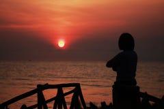 Подъем Солнця Стоковые Изображения RF