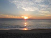 Подъем Солнця Стоковое Изображение