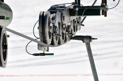 Подъем лыжи Стоковое Фото