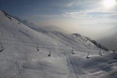 Подъем лыжи Стоковая Фотография