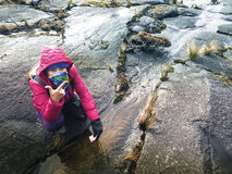 Подъем Mount Kinabalu Стоковые Изображения RF