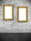 2 полых рамки Стоковые Фото