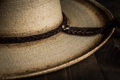 польза езды лошади шлема ковбоя Стоковые Изображения RF