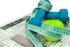 польза измерения машины весящ вес ваш Стоковые Изображения RF