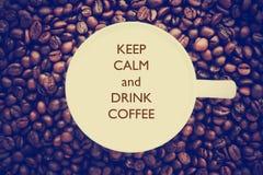 польза кофе предпосылки готовая Стоковая Фотография