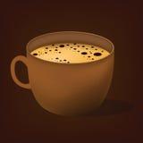 польза кофе предпосылки готовая Стоковое Фото