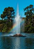 польза радуги фонтана европы конструкции ваша Стоковые Фотографии RF