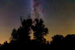 польза таблицы фото ночи ландшафта установки изображения предпосылки красивейшая Стоковое Изображение RF