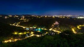 польза таблицы фото ночи ландшафта установки изображения предпосылки красивейшая Стоковая Фотография