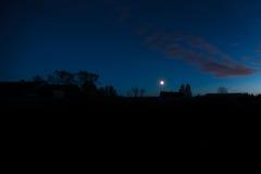 польза таблицы фото ночи ландшафта установки изображения предпосылки красивейшая Стоковые Изображения