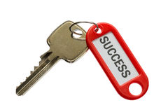 Пользуйтесь ключом к успеху 1 (современный ключ) Стоковая Фотография RF