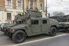 Польская армия - сегодня Стоковые Фотографии RF