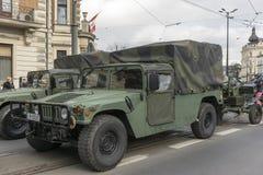 Польская армия - сегодня Стоковое Изображение