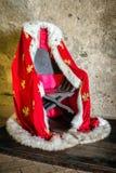 Польская королевская хламида стоковое изображение rf