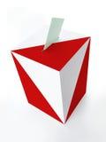 Польская урна для избирательных бюллетеней Стоковая Фотография