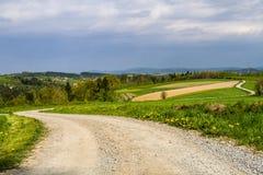 Польский ландшафт Стоковые Изображения RF