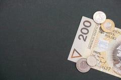 Польский конспект денег Стоковые Фото