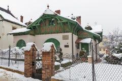Польский дом Rzeszow радио, Польша Стоковые Фото